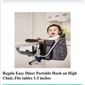 Other - Regalo portable high chair